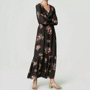 LOFT Hydrangea Maxi Dress